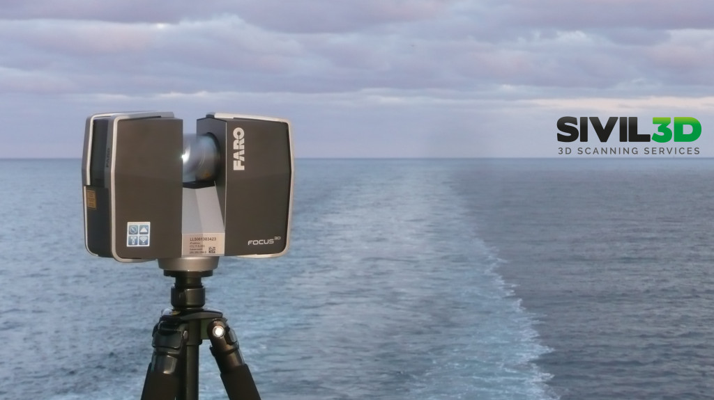 sivil3d at sea